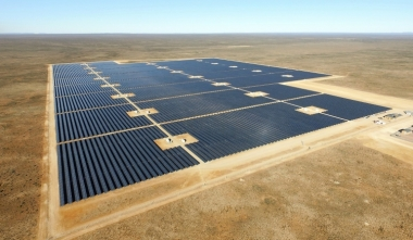 The 125 hectare Prieska Solar Plant. Image: Sonnedix