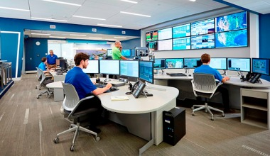 Duke Energy Renewables Control Center.