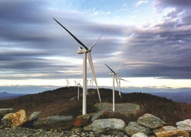 Wind Farm in Vermont. Seven Days file photo.