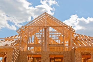 Wood building store carbon units.