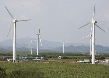 Wind turbines. Enel image.