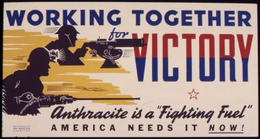 Perhaps we needed coal once, but that was before Trump's time.Government poster of circa 1942 or 1943. Public domain. Wikimedia Commons.
