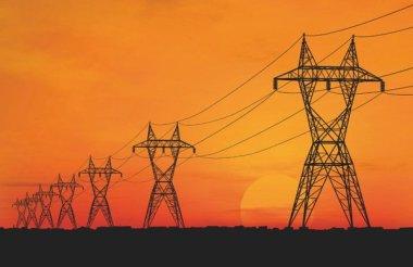 African transmission line.