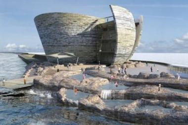 The Swansea Bay lagoon scheme.