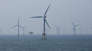 Danish offshore wind farm.