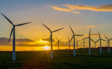 Once renewable energy can be stored for use on demand, Britain could become self-sufficient in its energy usage. Credit: Charlotte Graham / Rex Shutterstock.