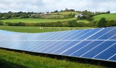 Lightsource solar farm.