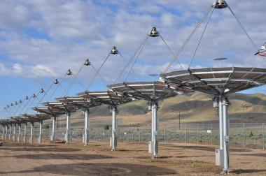 Solar array at Tooele Army Depot in Utah. Image credit: US Army Corps of Engineers.
