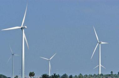 Most of the wind turbines installed till the year 2000 are below 500 kW capacity. The Hindu file photo.