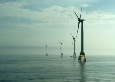 Block Island Wind Farm. Deepwater Wind photo.