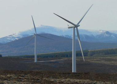 Hill of Towie wind farm in Scotland (reNEWS)
