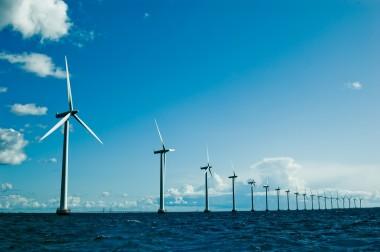 Offshore wind farm. Shutterstock image.