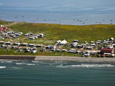 Shishmaref, Alaska. Bering Land Bridge National Preserve photo.