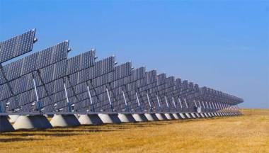 Five Points solar array. Photo Credit: Elena Zhukova.
