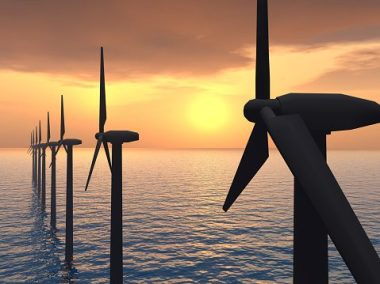 Arkona offshore wind power project.
