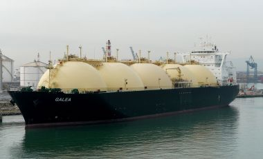 LNG Carrier Galea. Photo by Wolfgang Meinhart. CC BY-SA 3.0. Wikimedia Commons.