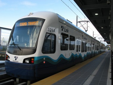 Sound Transit light rail. Photo by Oran Viriyincy (some rights reserved)