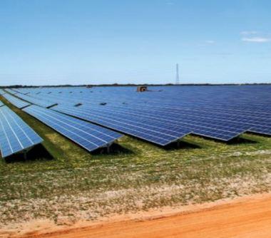 Solar farm in Australia.