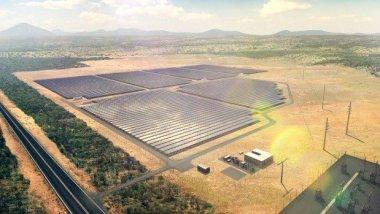 Origin solar farm.