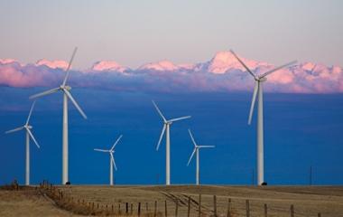 Grover, Colorado wind farm. Credit: Carlye Calvin, UCAR.edu, Colorado