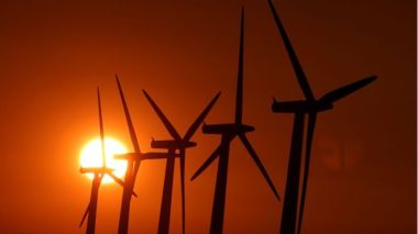 Switching from fossil fuels like coal to renewable energy has got easier for countries like China, as the cost of wind and solar power has dropped. PA