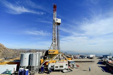 Crews drilled this relief well to help stop a massive methane leak at Aliso Canyon. Photo: Dean Musgrove / Pool / Reuters