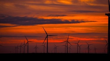 Wind farm in Australia