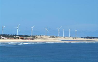Wind farm in Brazil. Author: Otávio Nogueira. License: Creative Commons, Attribution 2.0 Generic.