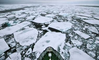 Sea-ice is in decline but scientists expect quite a bit of variability year on year. SPL