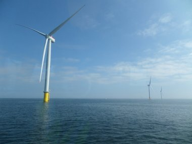 Westermost Rough offshore wind farm. (Dong Energy)
