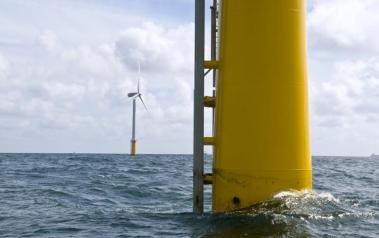 Wind turbines in Dutch waters. (Photo by Eneco. Creative Commons, Attribution-ShareAlike 2.0 Generic)