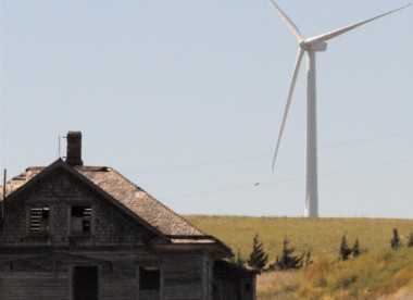 Old house, new turbine. (Enel)