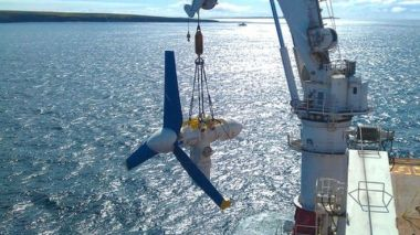 Atlantis Resources hopes to eventually install more than  200 turbines off the Caithness coast. (Atlantis Resources)