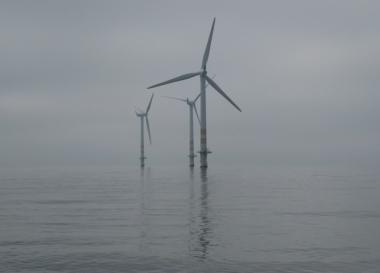 Offshore wind farm (Vattenfall image)