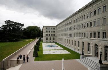 Headquarters of the World Trade Organization in Geneva, Switzerland (Reuters / Denis Balibouse)