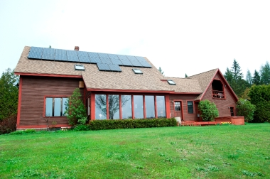 SunCommon solar home in Caledonia County (Courtesy photo)