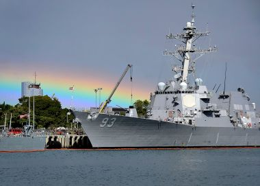 USS Chung-Hoon (Photo by Petty Officer 2nd Class  Daniel Barker. Public Domain. Wikimedia Commons.