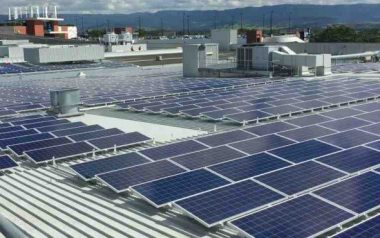 Australian commercial rooftop solar power