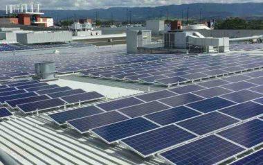 Australian commercial rooftop solar power