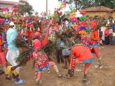 Famous Raut Nacha festival of Chhattisgarh, India. (Photo by Pankaj Oudhia. CC BY SA. Wikimedia Commons)