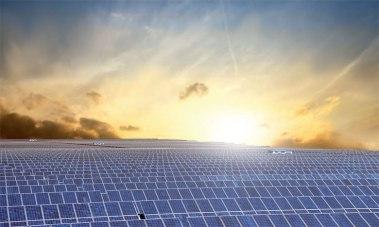 Solar at dawn