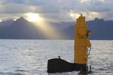 Wave energy test device (Photo: US Department of Energy)