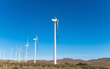 Wind farm in Chile (Featured Image: Pablo Rogat/Shutterstock.com)