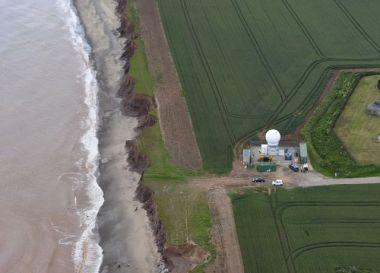 BeaCon radar, Westermost Rough (Credit: DONG)