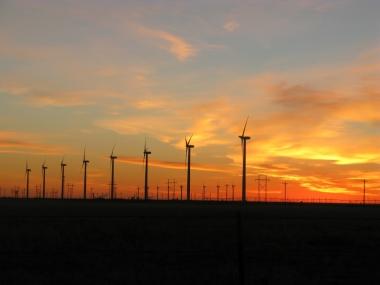 Enel's Rocky Ridge wind farm in Oklahoma