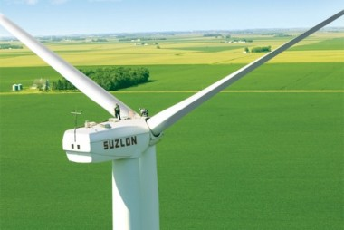 Suzlon turbine in Minnesota.