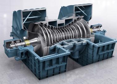 Steam turbine (Siemens image)