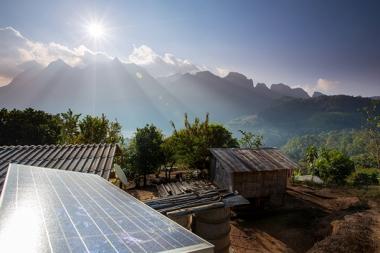 Solar panels in Thailand (Credit: IRENA)