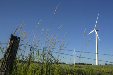 Wind turbines near Shelburne, Ontario. (Marcus Oleniuk / Toronto Star File Photo)