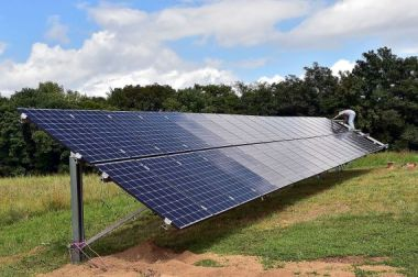 Solar project in Illinois (Credit: The Southern Illinoisan)